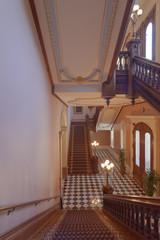 Sacramento state capitol interiors architecture.
