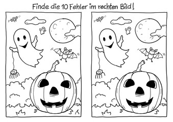 Fehlerbild Halloween