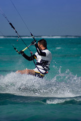 Kite Surfing In Grand Cayman