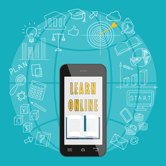 mobile learn online