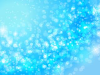 Blue Wave of shine background