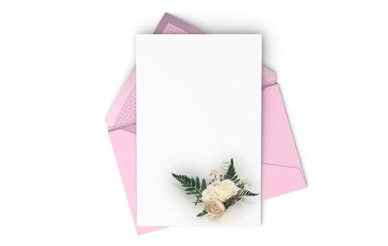 An elegant invitation card