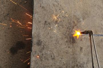 Smelting industry sparks