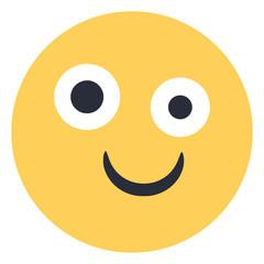 Drunk - Flat Emoticon design   Emojilicious
