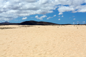 Corralejo Beach on Fuerteventura, Canary Islands. Spain