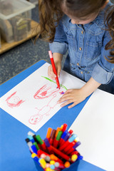 Drawing at Nursery