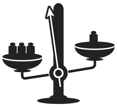 Balance mécanique poids picto 4