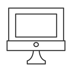 simple computer icon