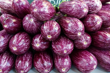 Colorful eggplant