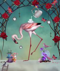 Flamingo wonderland party