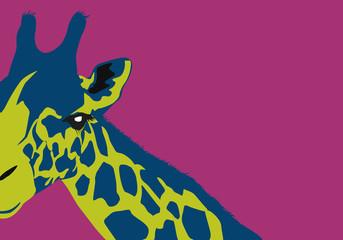Girafe - Décoratif