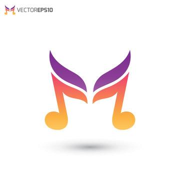 Music Wing Logo