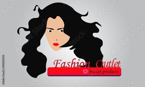 """Fashion Beauty Outlet Logo Design"" Imagens E Vetores De"