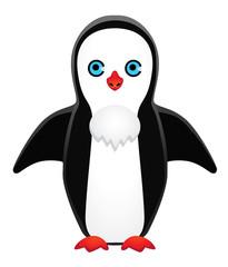 symmetrically drawn penguin
