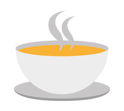 soup cup isolated icon design