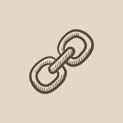 Link sketch icon.