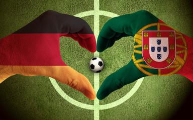 Deutschland gegen Portugal Endspiel, Finale