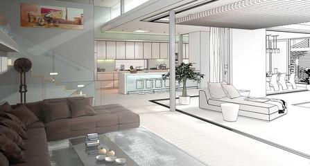 Modern House Interior (draft)