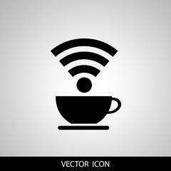 wifi connection design, vector illustration