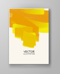 abstract background yellow color.