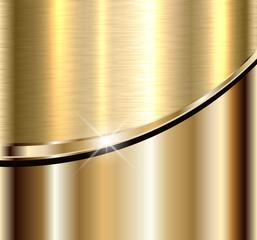 Background elegant gold metal texture