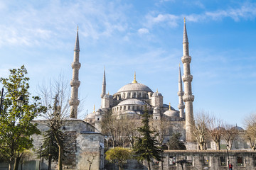 architecture of blue mosque