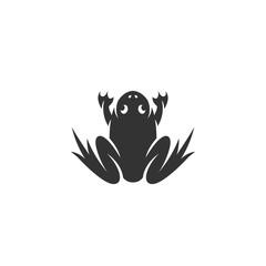 Frog icon isolated on white background
