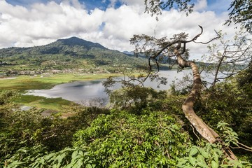 Holiday in Bali, Indonesia - Lake Beratan Beautiful View