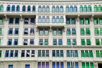 Colorful Window Make Building More Beautiful