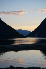 Fiord, sunset - Norway