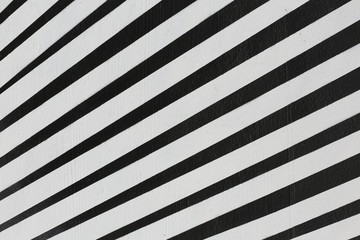 Abstract black and white stripe background