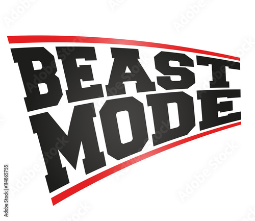 quotbeast mode designquot im225genes de archivo y vectores libres