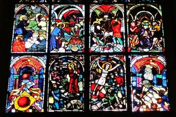 Kirchenfenster im Ulmer Münster
