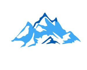 Mountain Logo Icon Vector Design