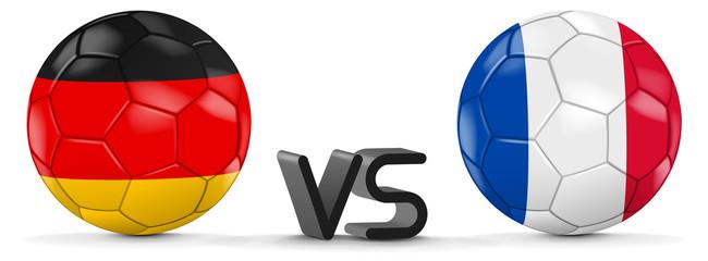 Deutschland vs Frankreich Halbfinale