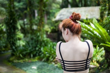 Holiday in Bali, Indonesia - Botanical Garden of Bali