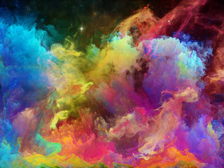 Vivid Space Nebula
