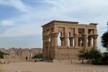 Der Trajan Tempel von Philae in Ägypten
