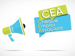 mégaphone : CEA