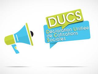 mégaphone : DUCS