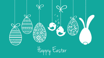 Happy easter card wishes buy this stock vector and explore category m4hsunfo