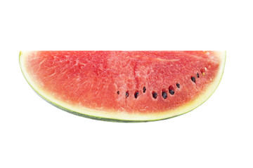 Red Watermelon slice with seed