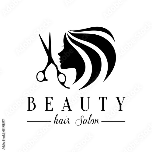 Beauty hair salon logo stock image and royalty free vector files on beauty hair salon logo thecheapjerseys Gallery