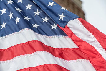 Giant Usa American flag stars and stripes background
