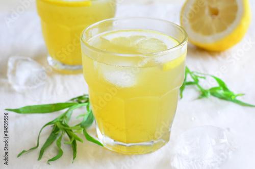 """Tarragon Lemonade, Natural Refreshing Drink"""" Stock photo and royalty ..."""