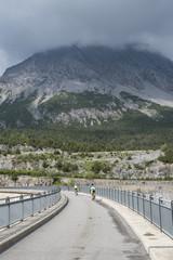 Mountain bike tra le alpi