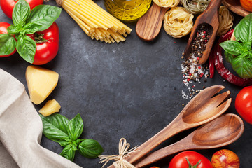 Italian food cooking