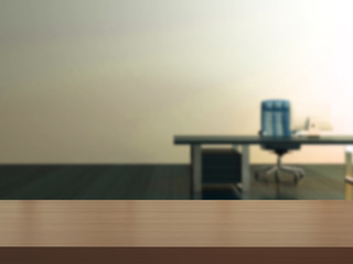 3d rendering the empty part of countertops