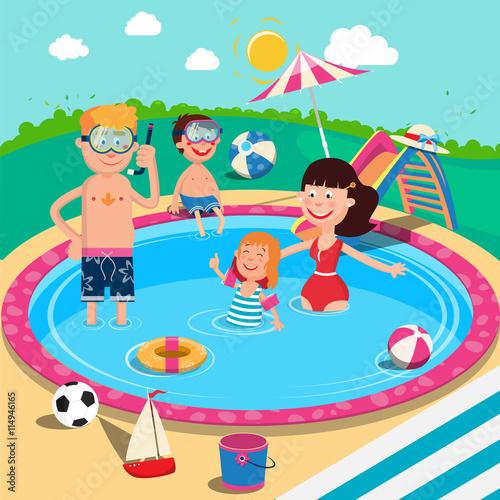 Pool Slide Vector