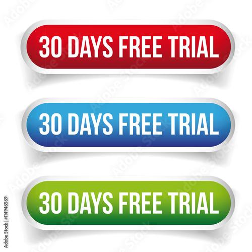 quot 30 days free trial vector quot stockfotos und lizenzfreie vektoren auf fotolia com bild 114946569
